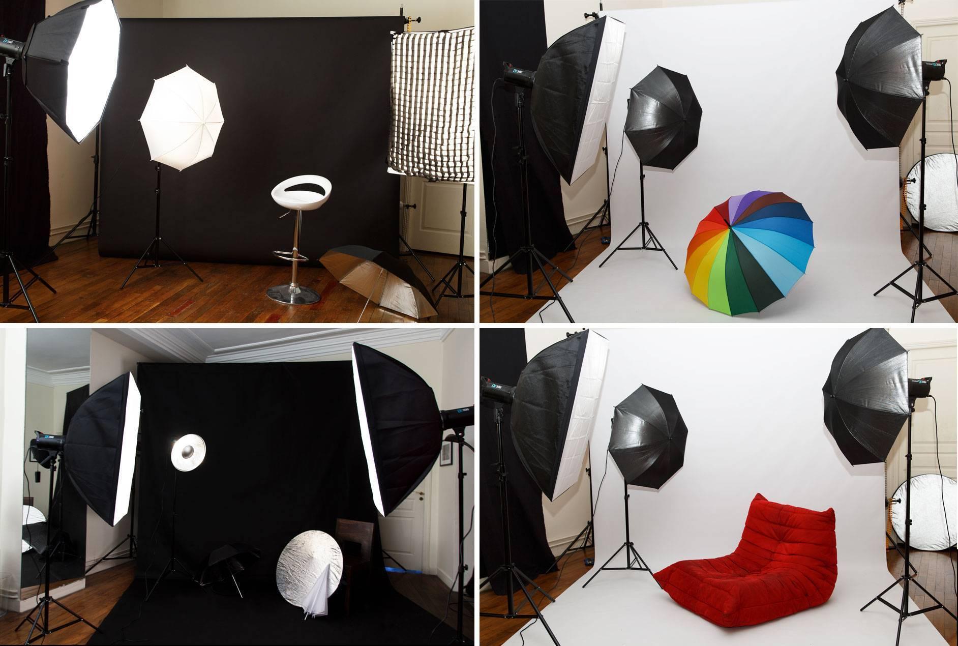 Studio photo à Paris