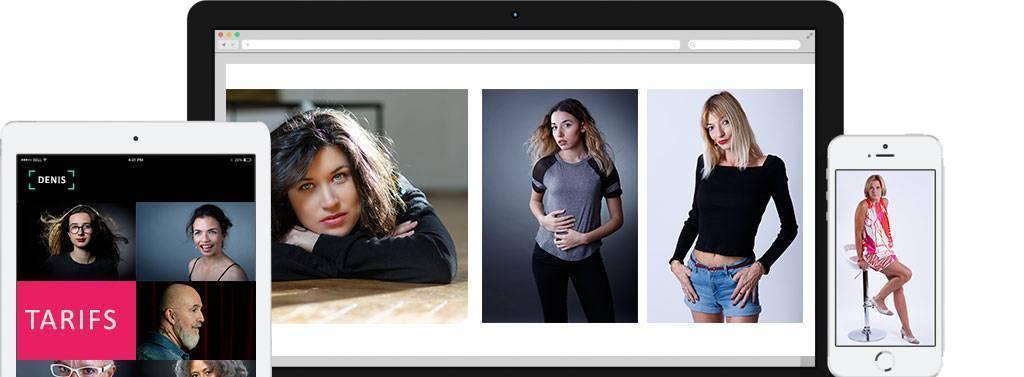 Tarifs photographe studio