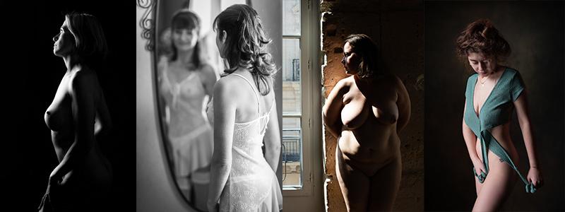 Photos lingerie et nu artistique en studio