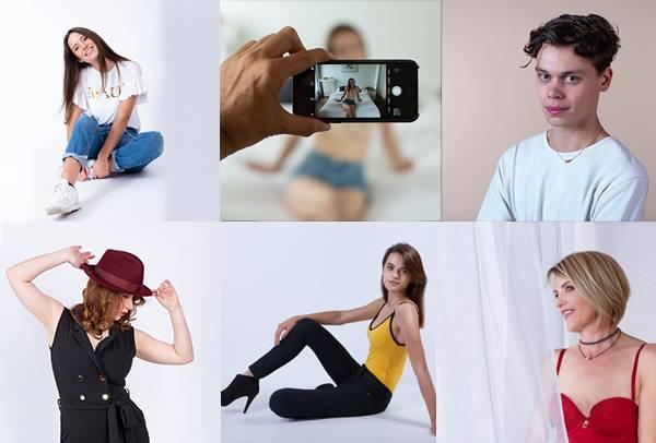 Des photos en studio
