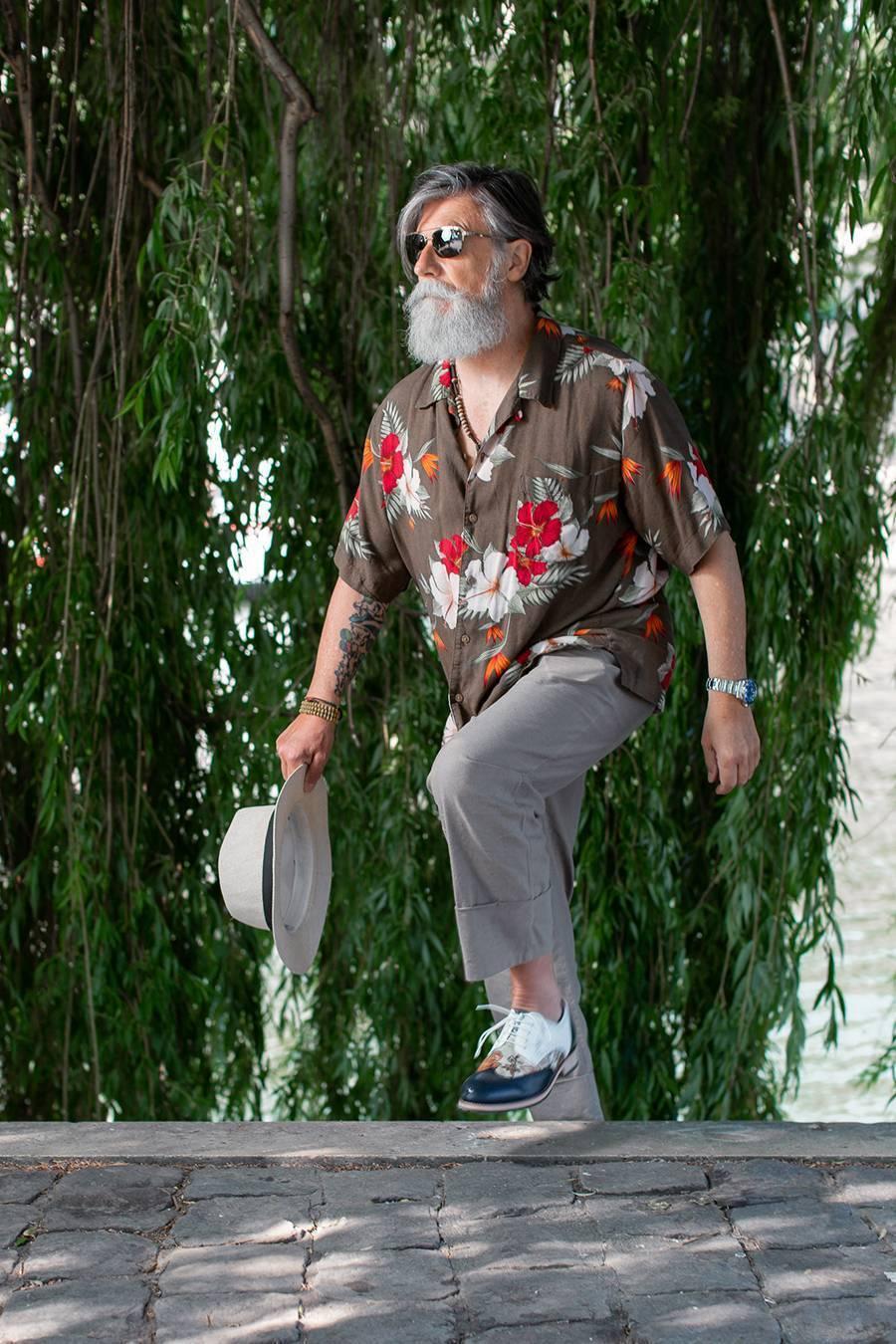 Philippe Dumas, mannequin senior